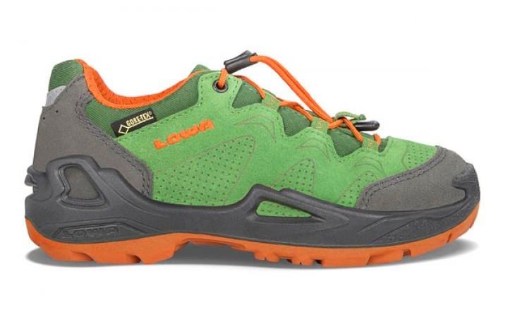 Lowa Diego GTX® Lo Halbschuhe grün orange