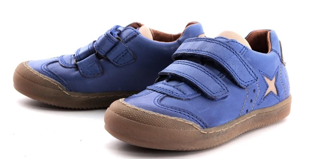 Froddo Leder Sneaker Halbschuhe mit Klettverschluss und Stern