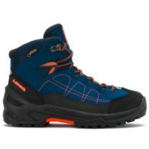 Lowa APPROACH GTX® MID Junior Wanderschuhe blau orange