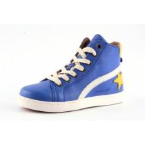 Bisgaard 31907 Hightop Sneaker mit Reissverschluss und Stern