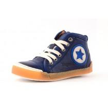Bisgaard 30715 Halbschuhe Sneaker hoch mit Reißverschluss und Stern