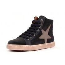 Bisgaard 31814 Sneaker mit Reissverschluss und Stern