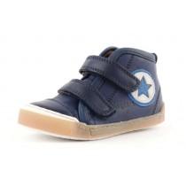 Bisgaard 40705 Halbschuhe Sneakers hoch mit Klettverschluss