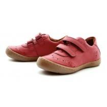 Froddo Mädchen Leder Sneaker Halbschuhe mit Klettverschluss