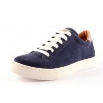 Froddo Teen Leder Sneaker Halbschuhe blau