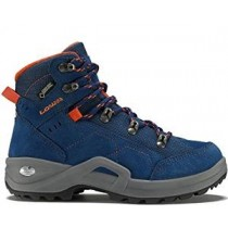 Lowa Kody III GTX® Mid Junior Wanderschuhe blau orange