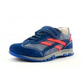 Primigi JERRY 1-E Jungen Leder Halbschuhe Sneaker